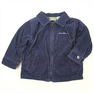 Eddie Bauer Corduroy Zip Jacket 18M